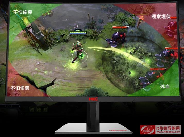 27寸显示器HKC惠科SG27C_plus怎么样?画质如何?1599元体验评测