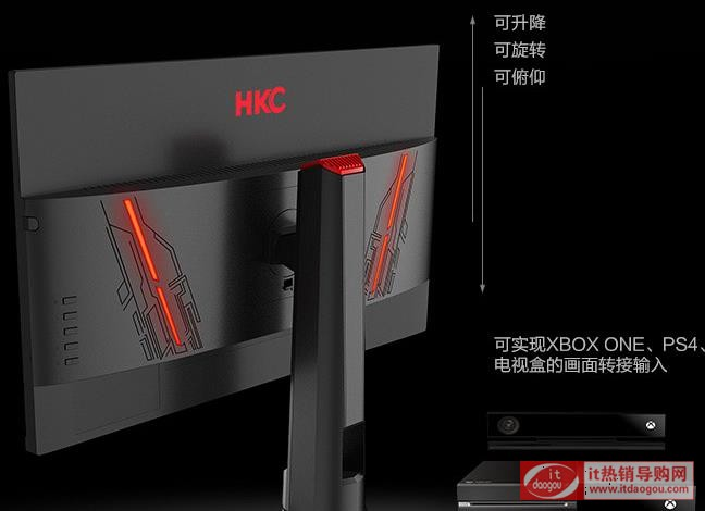 解密HKC惠科gp279s怎么样?什么底座和面板?测评是电竞显示器吗?
