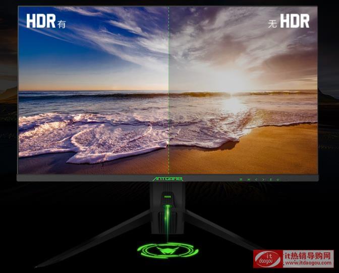 入手HKC惠科蚂蚁电竞显示器ANT271Q评价及报价配置参数测评