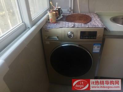 海尔 EG8014HB919SU1 8公斤变频洗烘一体滚筒洗衣机