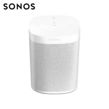 sonos one外观白色